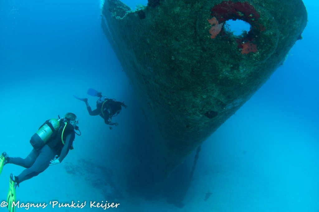 diving maltese islands